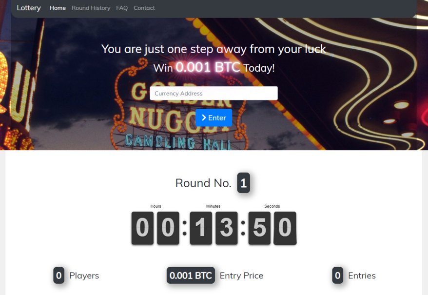 Crypto Lottery Preview